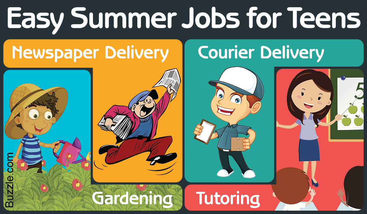 List Of Summer Jobs For 15 Year Olds Yoktravels Com
